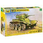 Советский легкий танк БТ-5, сборная пластиковая модель 1/35 Звезда 3507