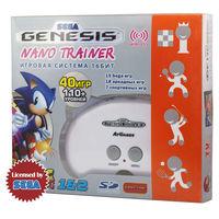 SEGA Genesis Nano Trainer + SD карта (белый)